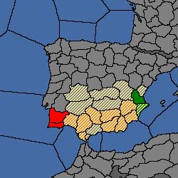 Andalusia Europa Universalis Wiki - Andalusia map