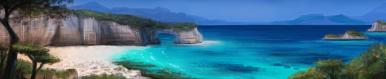 Coastline terrain
