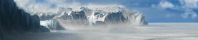 Glacial terrain