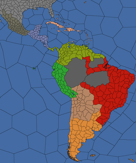 Central and South America regions - Europa Universalis 4 Wiki