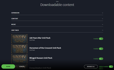 Downloadable content - Europa Universalis 4 Wiki