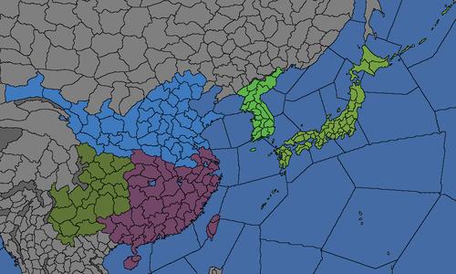 Region Of China Map.Asia Eastern Regions Europa Universalis 4 Wiki
