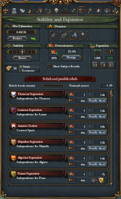 Rebellion - Europa Universalis 4 Wiki